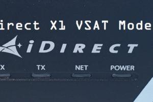 iDirect X1 Front LEDs