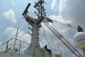 Ships Mast Obstruction